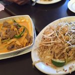 Pad Thai and Curry
