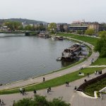 View of the river in Krakow