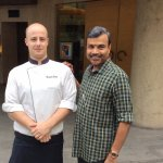 With Italian Chef Alex
