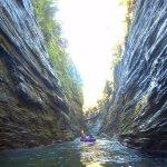 Rafting the Navua river