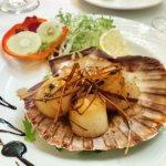 Brilliant scallops