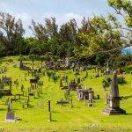 Royal Naval Cemetery across the street from Sea Glass Beach