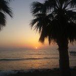 Zachód słońca nad wyspą Samos