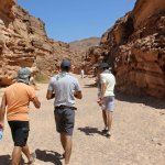 at the colored canyons .Dahab, Egypt