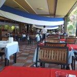 Draußenbereich Speisesaal