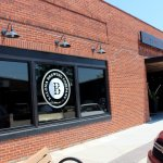 A photo of the front of Kalona Brewing Company
