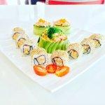Lobster sushi