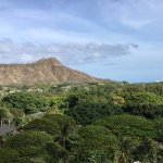 View to Diamond Head from room 907