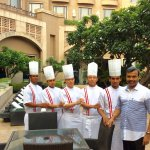 With the Thai Chef Brigade