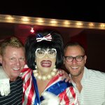 Friends getting a pic with Miss Richfield 1981 after the show
