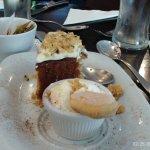 carrott cake for dessert