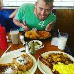 Chicken & waffles / the Sweet Spot