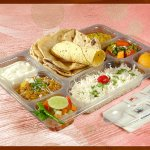 Deluxe Thali - if you are looking for a standard and economical option.