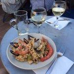 Authentique Paella sur la terrasse de Marta : priceless!!