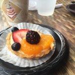 Fruit tart. Very yummy!