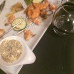 Crevettes caoutchouteuses sauce froide
