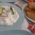 Tzatziki og græske kartofler