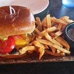 Double Hoser Burger