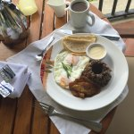 Chorreadas, French Toast and Tico Typical breakfast dishes...all really good and available from