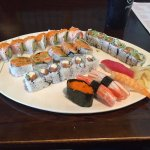 Selection of Rolls (6) and other types of Sushi.