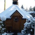 Auch im Winter schön in unserer Kotahütte