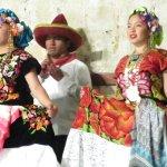 Dancers @ Quinta Real Guelaguetza Show