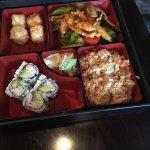 Basil Chicken Bento Box