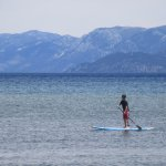 Long Board, Pope Beach, Lake Tahoe, CA