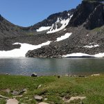 Blue Lake, 6x6 adventure ride, 9500ft elevation