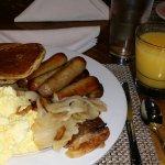 Breakfast was good. 7/8/2016