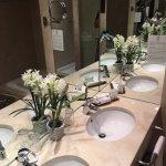 Baño de la habitación Suite