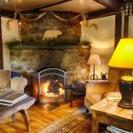 Relax in our Great Room by the fireplace