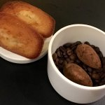 Menu bib 37 €: foie gras de canard - veau fermier en escalope  - moelleux chocolat Marcolini