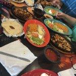 My Special Fajitas, chicken fajitas, and La Galera all delicious!