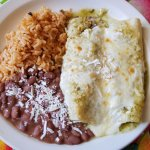 Sunday brunch enchiladas