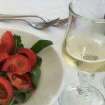 Wonderful tomato & rocket salad!