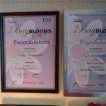 Certificates for best garden