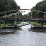 le passage d'un pont mobile