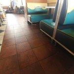 Unswept floors