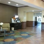 The lobby & the business center was clean, neat, and able to accommodate all guests needs,plus s