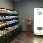 Along w vending & ice machines on each floor there's also a fairly priced sweet shop w a variety