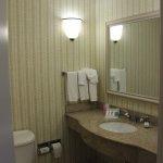 Milwaukee, Hilton Garden Inn, Room 349, Bathroom