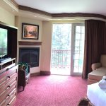 The website pictures made it seem like the rooms were outdated but that wasn't the case. Our sta