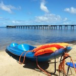 Taken after a lovely kayak on the lagoon looking towards the long jetty where you can snorkel &