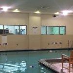 indoor pool not heated