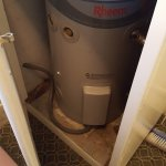 no wonder we had cold water look at size of water heater for families