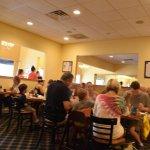 Gilchrist's Restaurant : Tables inside