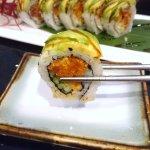 Spicy Caterpillar Roll