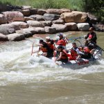 Hitting the rapids in Smelter Park