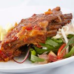 Thai pork ribs